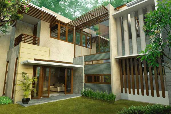desain interior rumah modern