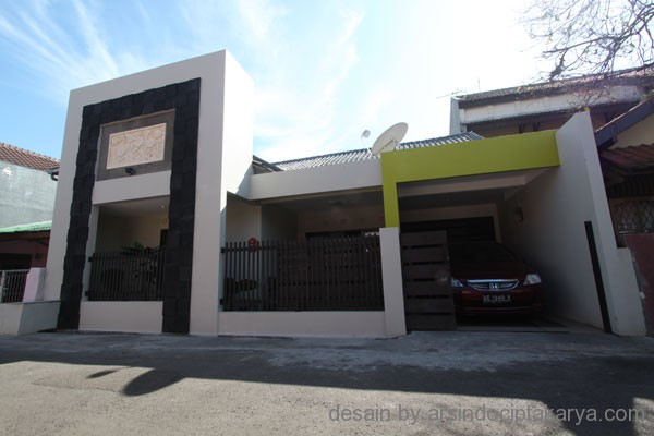 desain rumah tinggal minimalis