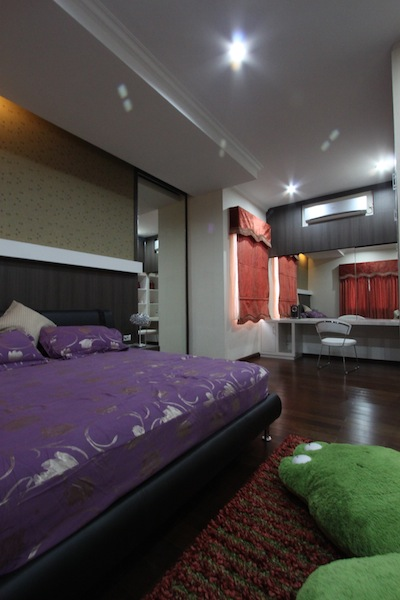 desain interior kamar tidur keluarga