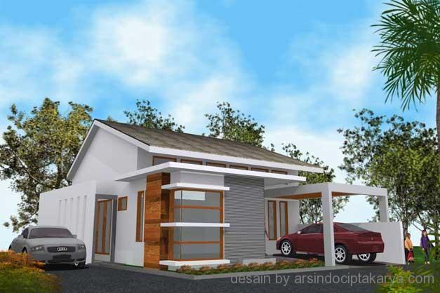 desain arsitektur rumah minimalis