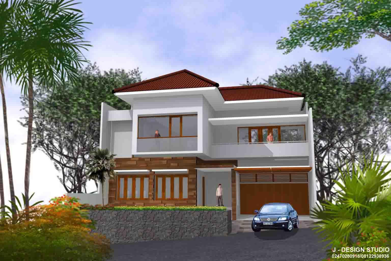 Desain Rumah Tinggal Graha Candi Golf Semarang