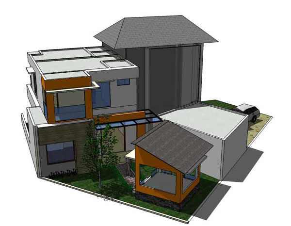 Desain Rumah Sentul City