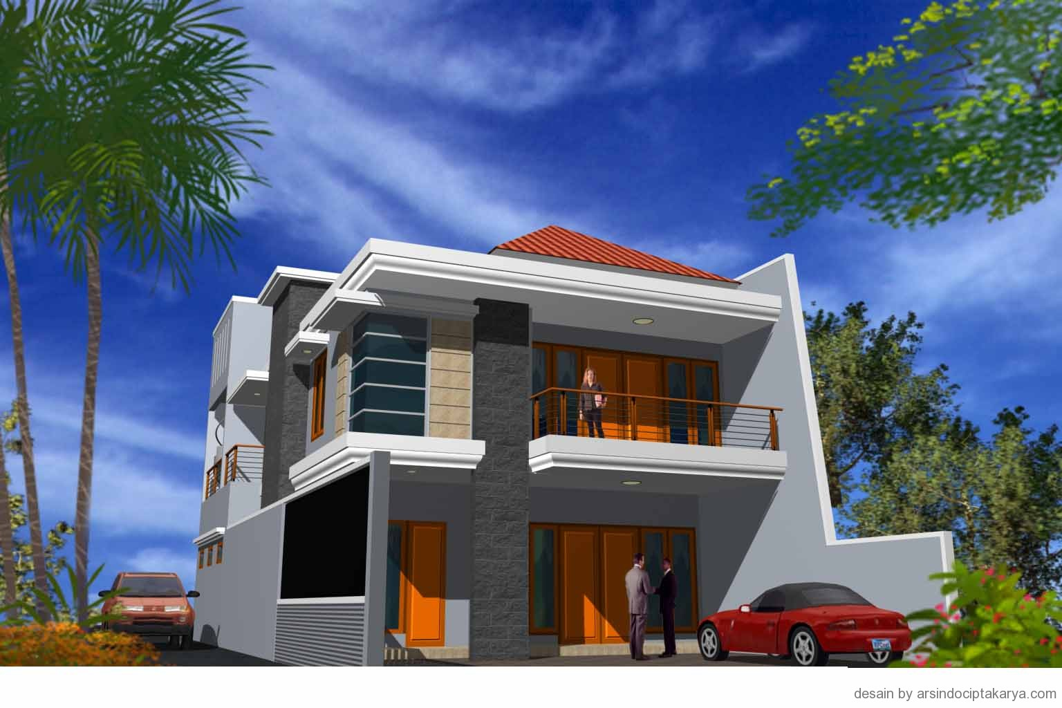 Desain rumah Pak Ilik SAS