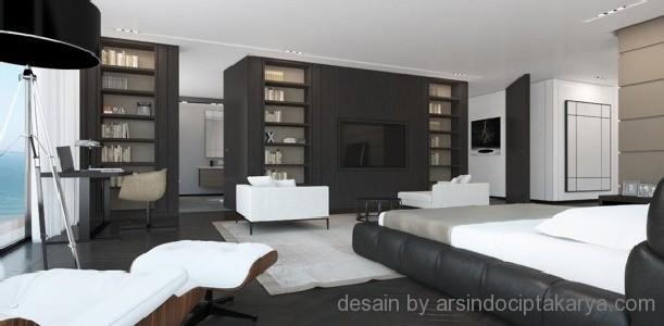 Desain tempat tidur modern