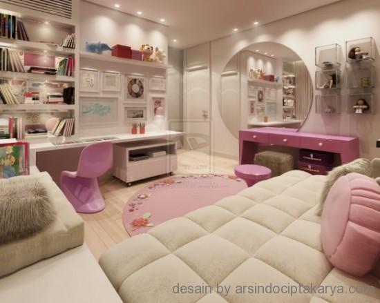 desain interior kamar cewek