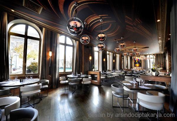 desain restoran futuristik