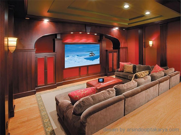 Desain Interior Home Theater