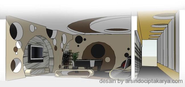 desain ruang karaoke
