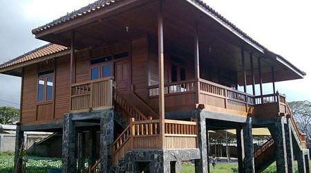 arsitektur si tb ix e desain rumah kayu minimalis untuk
