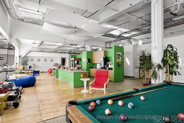 desain interior kantor futuristik