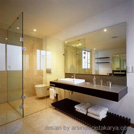 Kamar Mandi Kecil Design on Kamar Mandi Batu Alam Minimalis Interior Design Home Design