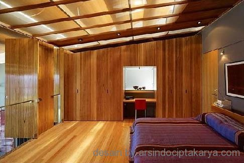 Desain Interior Rumah Kayu