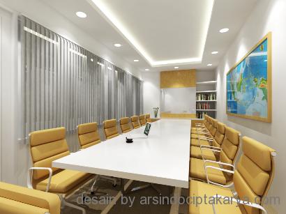 desain interior ruang rapat
