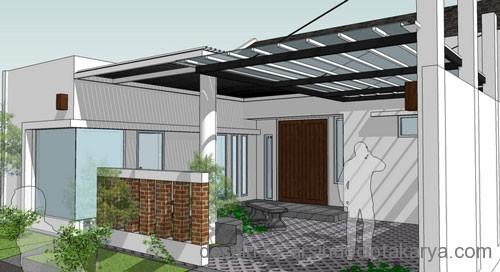 desain rumah ukuran kecil
