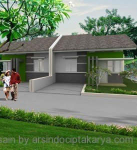 desain rumah type 36
