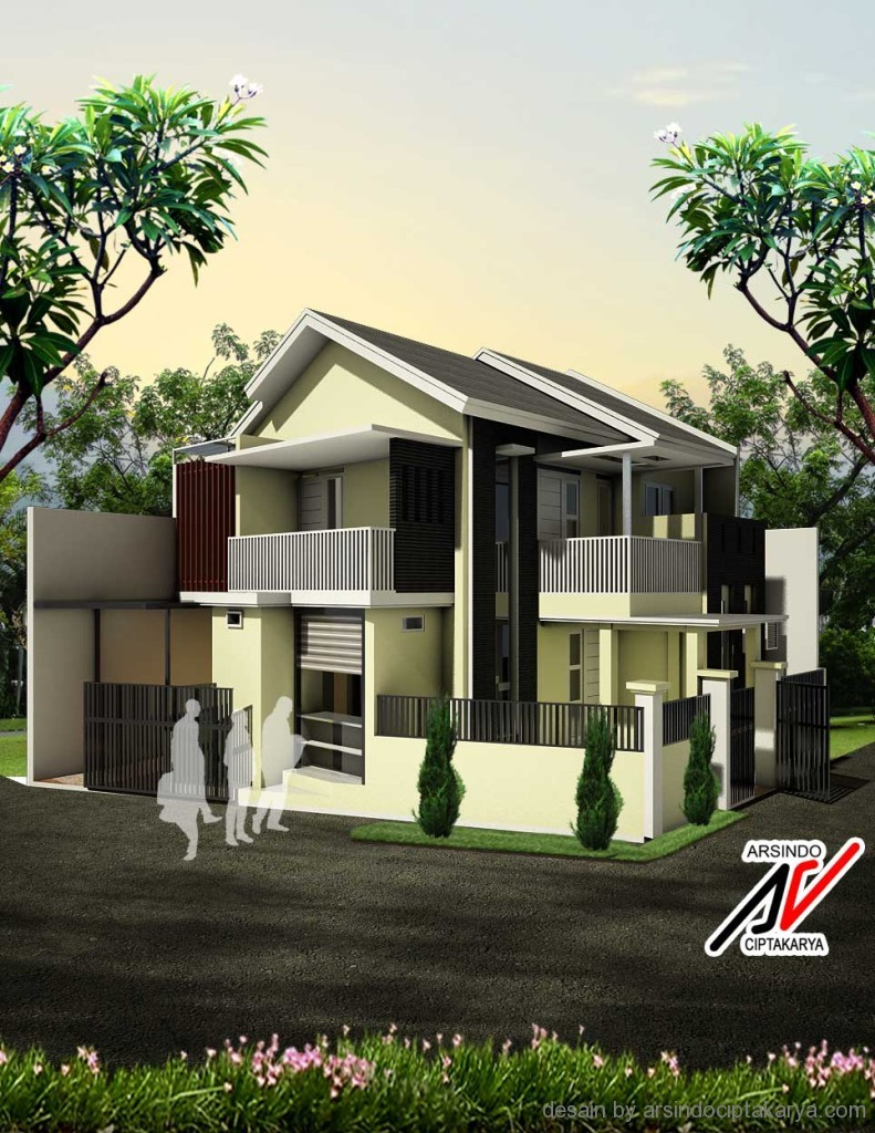 791 x 1024 jpeg 231kB, Desain Rumah Lebar 6 Meter Konsultan Rumah