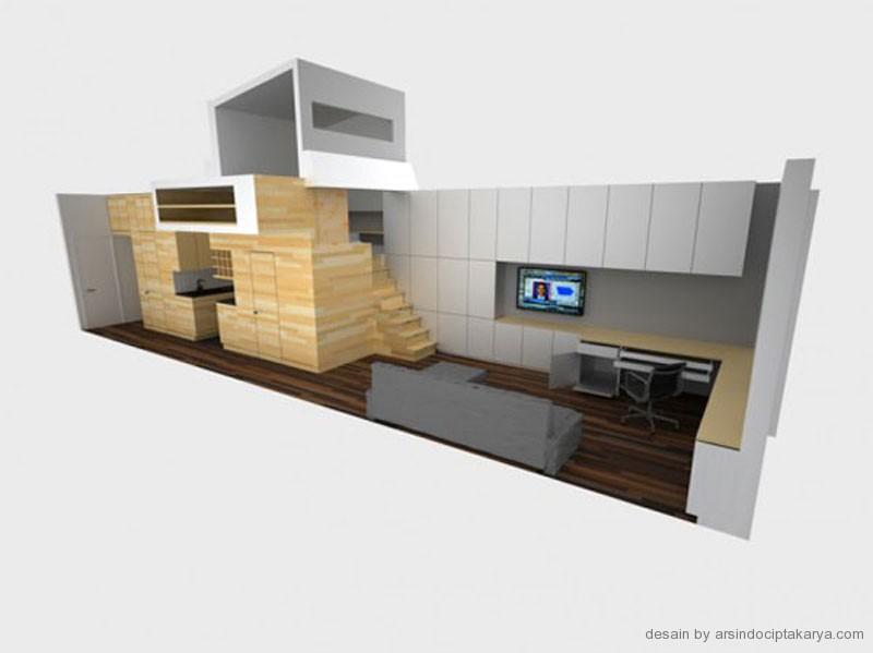 desain apartement modern