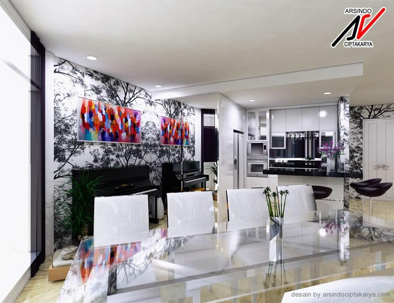 desain ruangan interior apartemen