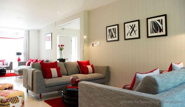 tips ruang keluarga minimalis