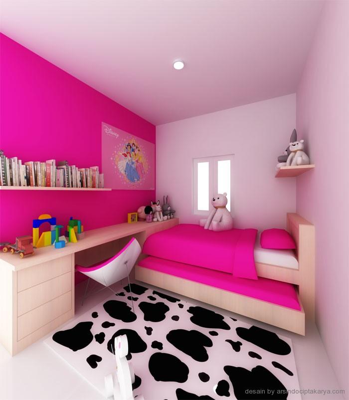 desain kamar tidur anak perempuan gambarrumahhcom