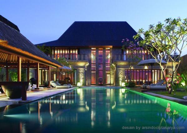 Desain resort di bali yang menakjubkan