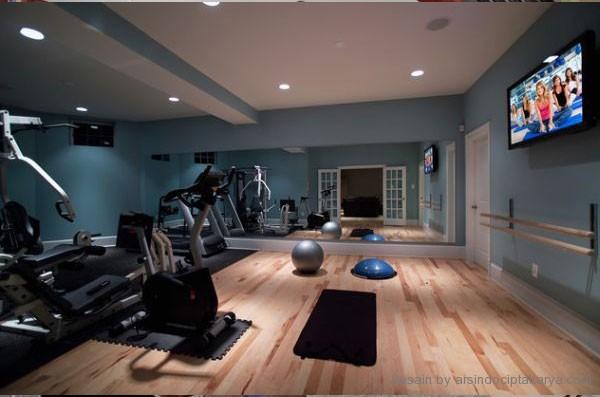 desain interior ruang fitnes
