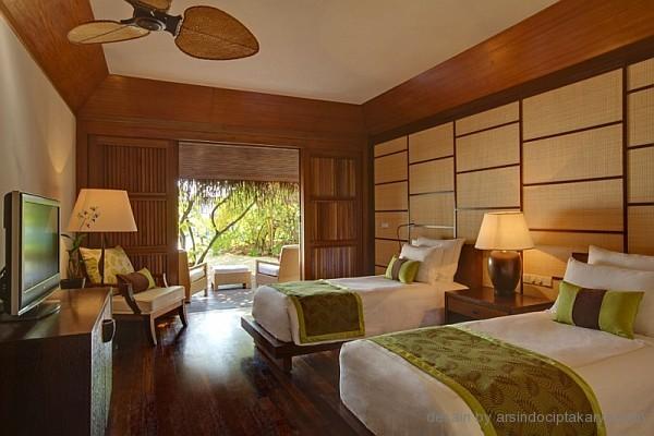 desain kamar tidur resort