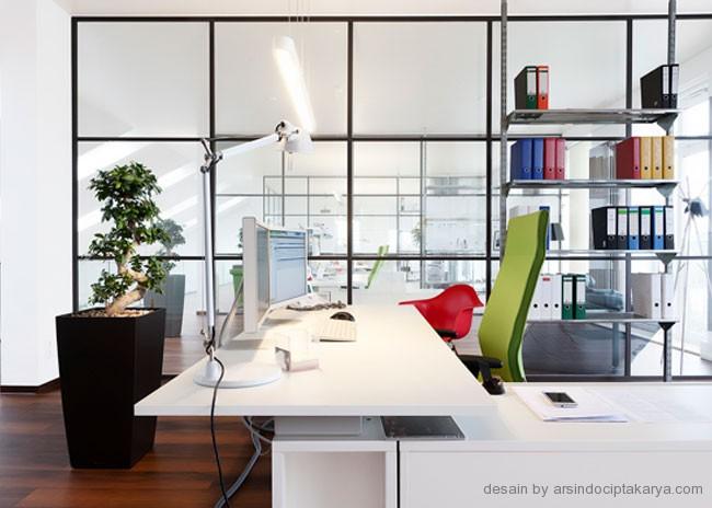 desain rumah kantor minimalis