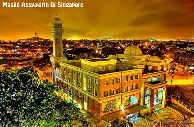 desain masjid assyakirin singapore