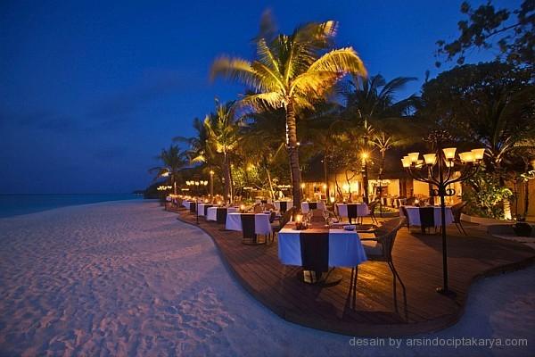 desain restoran resort