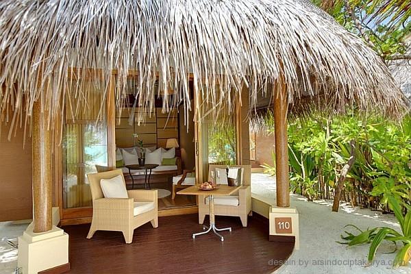 desain ruang tamu resort