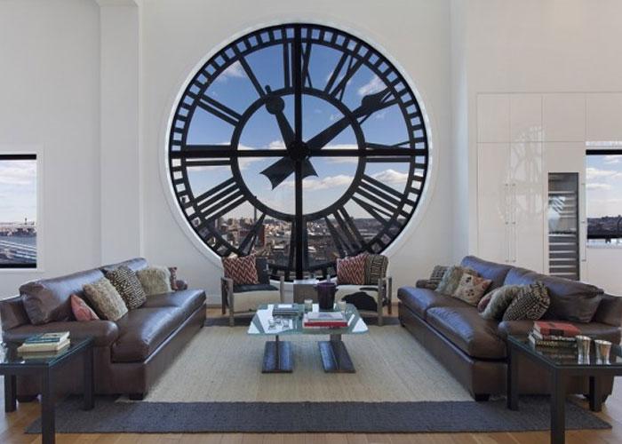 desain penthouse mewah