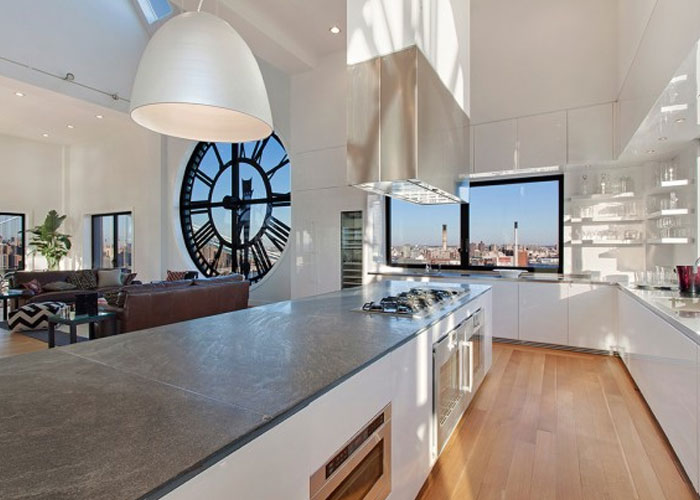 desain dapur penthouse