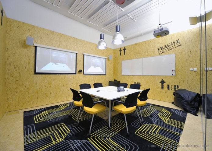 desain kantor minimalis modern
