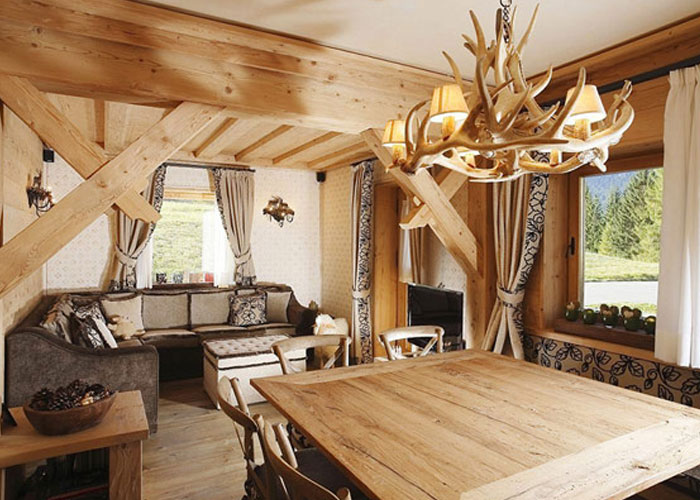 desain interior ruang tamu model klasik