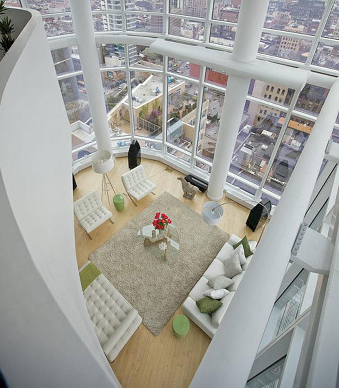 desain interior penthouse