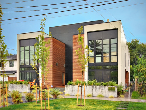 desain eksterior penthouse