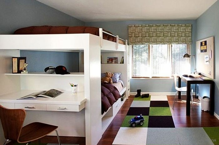 desain kamar tidur minimalis untuk anak dan remaja laki laki