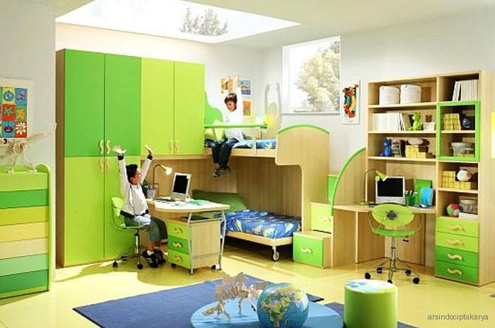 grahasella desain kamar tidur praktis untuk anak oleh dielle
