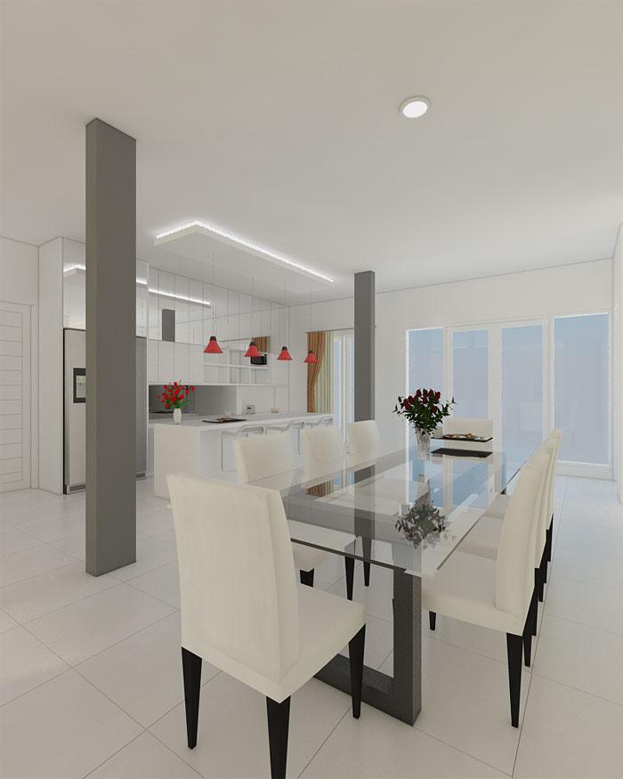 disain interior rumah minimalis