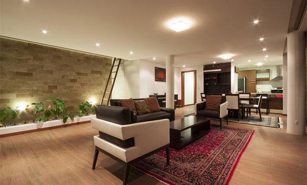 desain interior rumah 1 lantai