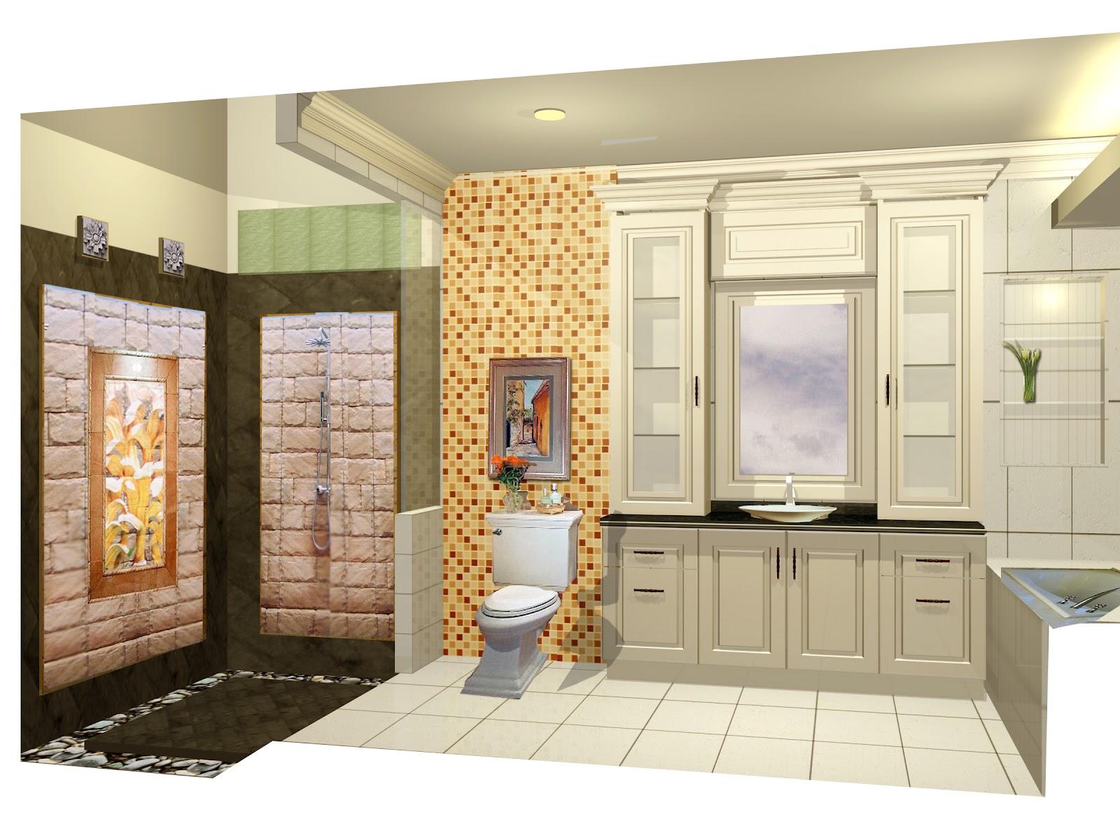 gambar desain kamar mandi