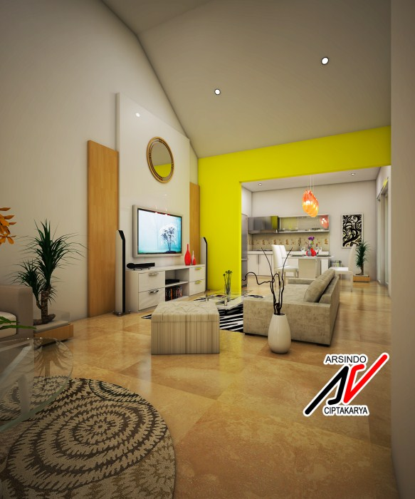 design interior rumah kecil cocok untuk rumah bertipe mini