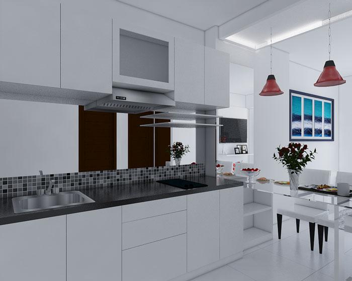interior rumah tipe 45
