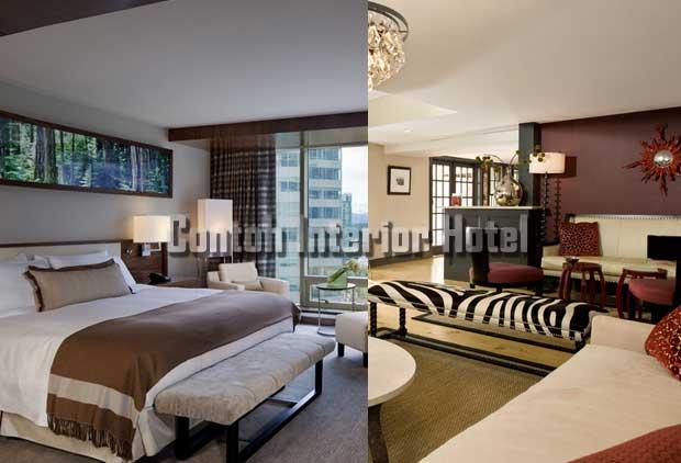 contoh interior hotel