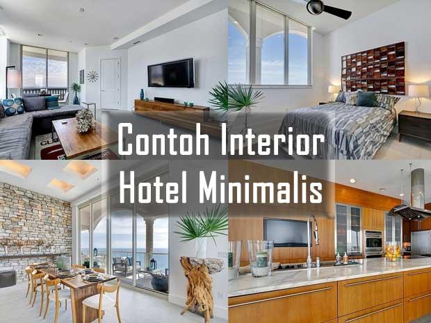 contoh interior hotel minimalis