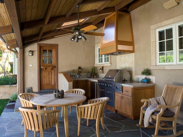 fungsi dapur dan gambar interior dapur yang tepat