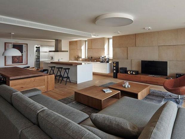 dapur dan ruang tengah