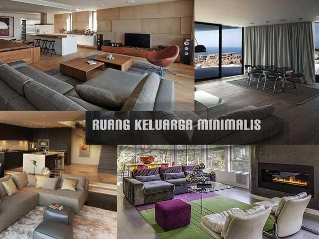 gambar interior ruang keluarga minimalis