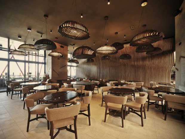 interior cafe modern